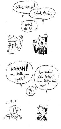 bulles qui parlent
